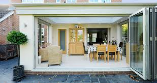 This Extension Has A 5 Part Bi Fold Door Giving The Dining Area An Al Fresco