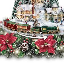Thomas Kinkade Christmas Centerpieces Comfy Christmas