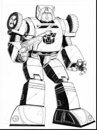 Extraordinary Transformers Bumblebee Coloring Pages With Transformer Page And Printable Free