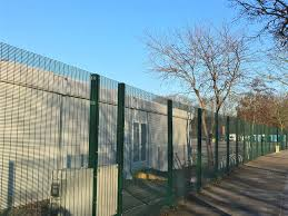 The Drawing Of Anti Climb Fence Installation Including Welded Mesh Security Panels Jacksons Security Fencing