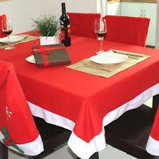 décorations de table de noël nappes pour la maison ebay