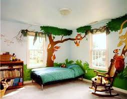 Image Of Jungle Theme For Kids Bedroom