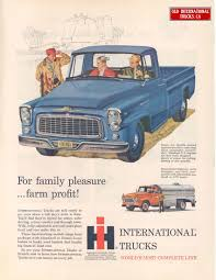 1960 International Models B-110 And B-160 | International Harvester ...