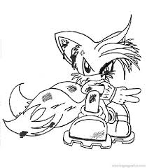 Sonic The Hedgehog Coloring Pages 7