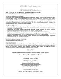 Professional Resume Examples For Administrative Positions Feat Pattern Government Assistant Resumes Sample Executive To Prepare Remarkable