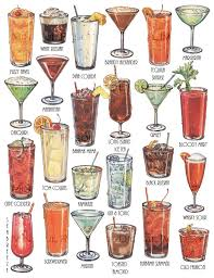 Cocktails Retro Art Drinks Vintage Cocktail Party Decorations By Mindfulresource Classiccocktails Cocktailparty Cocktailposter