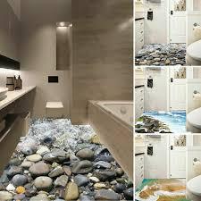 3d badezimmer zimmer boden aufkleber dekoration kinder