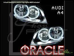 01 08 audi a4 ccfl halo rings headlights bulbs