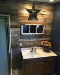 Best 25 Small Rustic Bathrooms Ideas On Pinterest Cabin Gorgeous Bathroom Wall Decorating