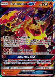 Tortunator GX Stunde Der Wachter Boosterserien Einzelkarten Pokemon
