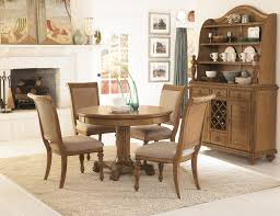 Raymour And Flanigan Kitchen Dinette Sets by 5 Piece Round Pedestal Dining Table U0026 Side Chairs With Upholstered