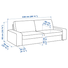 kivik 3er sofa hillared beige ikea österreich 3er sofa