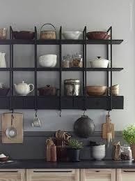 lush interiors küchen wandregal ikea ideen