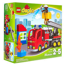LEGO Duplo Town Fire Truck Toy Building Set Kit With Firefighter ... Lego Duplo 5682 Fire Truck From Conradcom Amazoncom Duplo Ville 4977 Toys Games City Town Fireman 2007 Sounds Lights Lego Station Funtoys 10592 Ugniagesi 6168 Bricks Figurines On Carousell Finnegans Gifts Baby Pinterest Trucks Year 2015 Series Set Fire Truck With Moving 10593 5000 Hamleys For And 4664