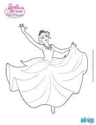 Princess Catania Is Dancing Barbie Printable Color Online Print Mariposa Banished