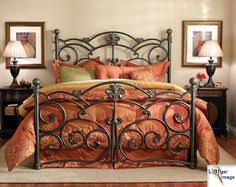 wildon home metal headboard and footboard in antique brass