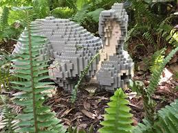 Lego s at the McKee Botanical Garden Extravagant Gardens