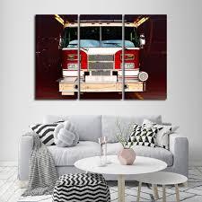 100 Fire Truck Wall Art Multi Panel Canvas ElephantStock