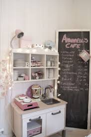 Annabells Cafe Featuring An IKEA DUKTIG Mini Kitchen LOOK It Even Has Her