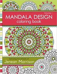 Buy Mandala Design Coloring Book 1 Jenean Morrison Adult Books Online At Low Prices In India