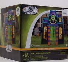 Airblown Halloween Inflatable Archway Tunnel by Gemmy Inflatable Halloween Décor Ebay
