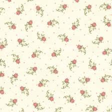 100 Flannel Flower Glass Henry Fabrics Folk Art 2 Printed Plaid
