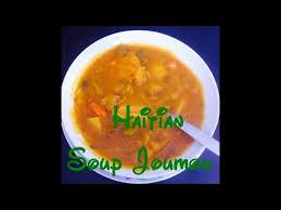 Traditional Haitian Pumpkin Soup Recipe by Traditional Haitian Soup Joumou Youtube