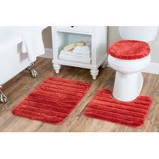Red Bath Rug Set by Orange Bathroom Rugs Orange Bathroom Rugs And Towels Luxury Bath