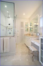 Small Bathroom Vanities With Makeup Area by Single Bathroom Vanity With Makeup Area Bathroom Home Design