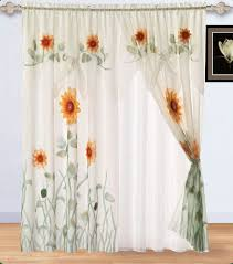 Amazon Yellow Kitchen Curtains by 130 Best Sunflower Curtain Images On Pinterest Sunflowers