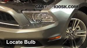 headlight change 2010 2014 ford mustang 2013 ford mustang 3 7l