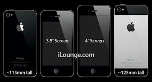 New iPhone rumors 20% thinner with 4 inch screen and Gorilla