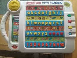 vtech smart alphabet picture desk vtech smart alphabet desk like new in rome letgo