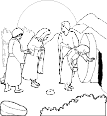 Jesus Is Alive Colouring Pages Page 2