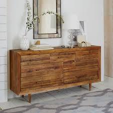 Alexa Reclaimed Wood 7 Drawer Dresser Honey