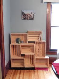 Crate Shelves 25 DIYs