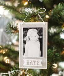 Black And White Photo Ornament