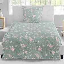 irisette biber bettwäsche feel 8150 12 kiesel rosa grau weiß blüten 135x200