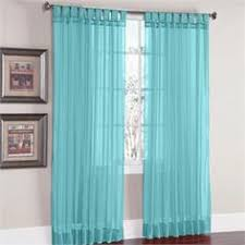 Brylane Home Grommet Curtains by Brylanehome Studio Sheer Voile Grommet Curtains Plus Size