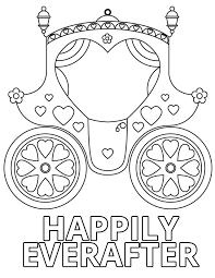 Wedding Coloring Book Pages