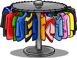 Trends For Clothing Rack Clipart
