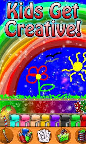 Paint Sparkles Coloring Book Free Apps