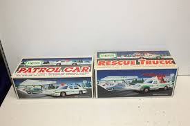 Lot Of 2 VTG Early 1990s Hess Toys - Rescue Truck/Patrol Car - IOB U ... 2017 Hess Dump Truck And Loader Ebay Toy Trucks Through The Years Newsday Classic Toys Hagerty Articles 1968 Hess Truck Wbox Perth Amboy Nj Headlights Work 1 Owner Toy Amazoncom 2001 Mini Race Car Transport 4th Issue By 2016 Dragster Walmartcom 2010 Jet Plane The Model Garage Youtube 2008 Front 1960s Intertional Rf200 Lowboy Trailer Wtractor Load 1967 Bank In Mint Cdition Original Box 2011 Race Car