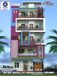 104 Home Designes Top Indian 3d Front Elevation Modern Design 4 Bhk 2 Bhk 3 Bhk