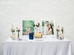 Pale Pink Wedding Gift Table