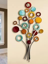 gilde wanddekoobjekt wandrelief lebensbaum schlank 1 stück wanddeko aus metall wohnzimmer kaufen otto