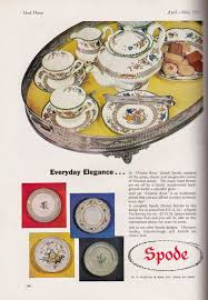Spode Christmas Tree History by Spode History Spode In 1956