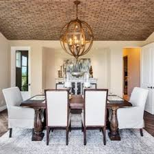 75 Mediterranean Dining Room Design Ideas Remodeling Pictures That Rh Houzz Com Designs Chairs