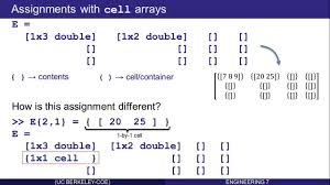 cell and struct arrays in matlab part 5 of 16 youtube