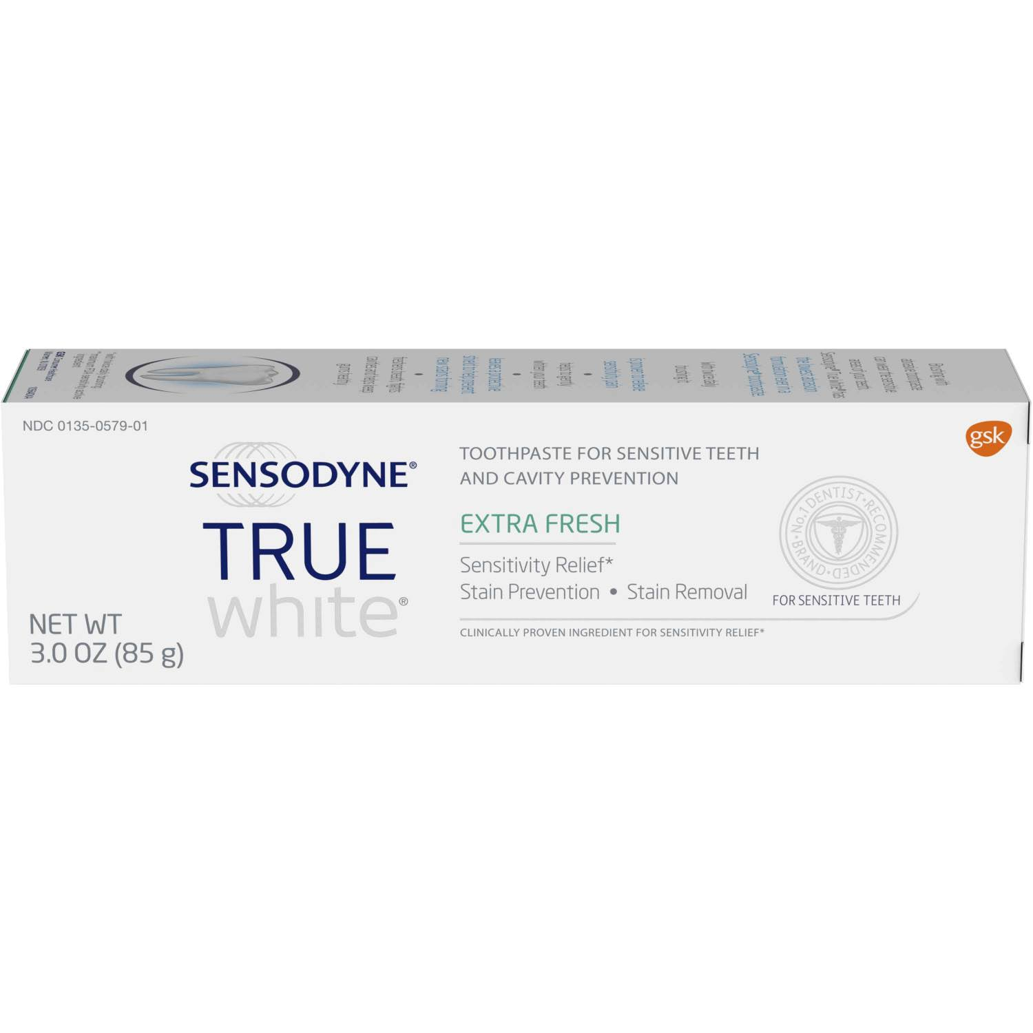 Sensodyne True White Toothpaste - 85g